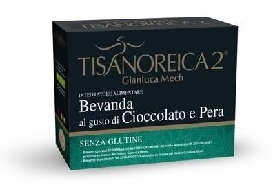 Tisanoreica2 Bevanda al gusto di Cioccolato e Pera 4 bustine