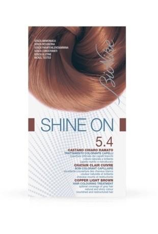 Bionike Shine On Trattamento Colorante Capelli - 5.4 Castano Chiaro Ramato -