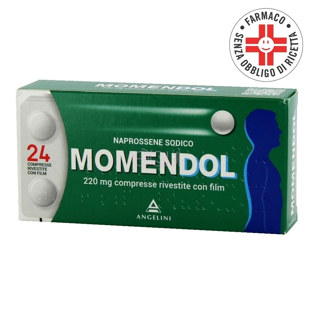 Momendol* 24 compresse rivestite 220mg