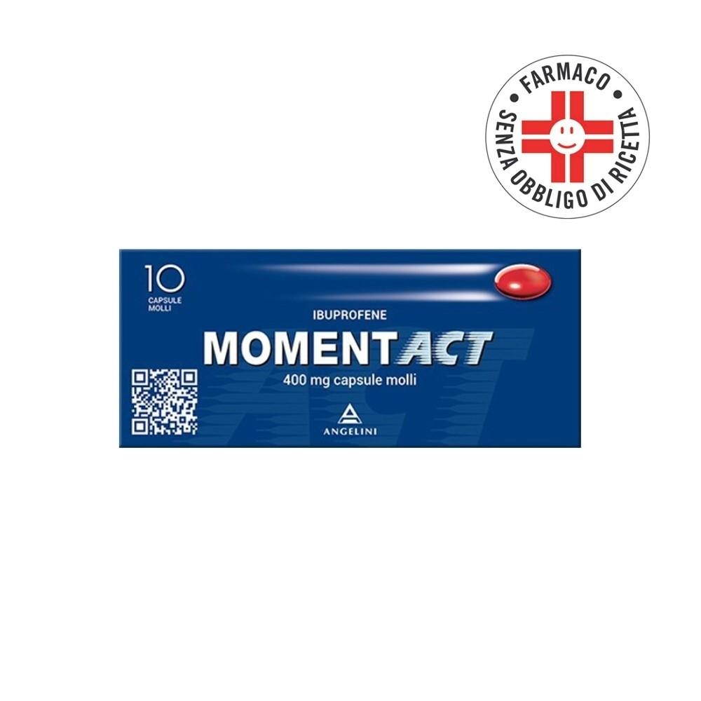 Momentact* 10 Capsule Molli 400mg