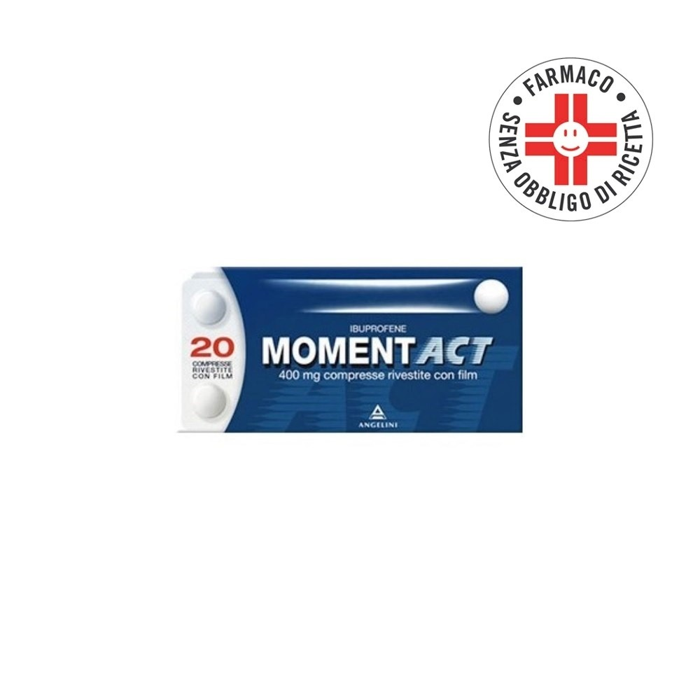 Momentact*20 Compresse Rivestite 400mg