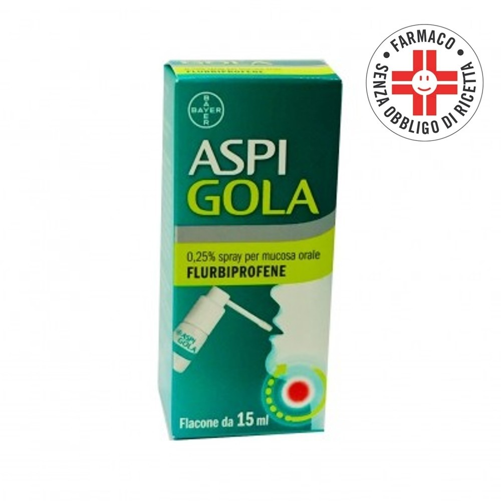 Aspi Gola* Spray Orale 15ml 0,25%