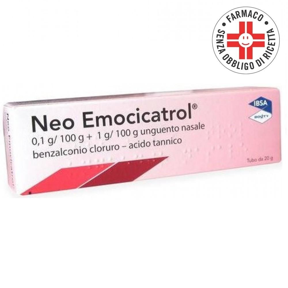 Neoemocicatrol* unguento nasale 20gr 1mg/g + 20mg/g