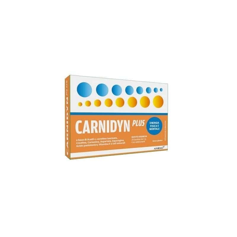Carnidyn Plus integratore alimentare 20 buste