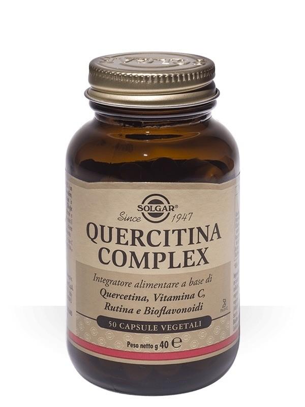 Solgar Quercitina Complex 50 Capsule Vegetali
