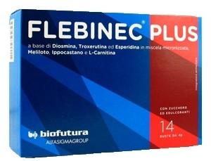 Flebinec plus Integratore alimentare 14 bustine