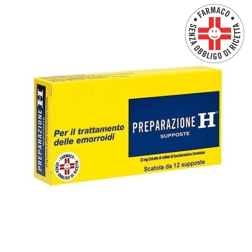 Preparazione H* 12 Supposte 23mg