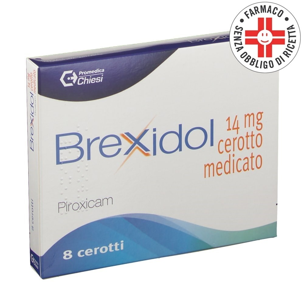 Brexidol* 8 cerotti medicati 14mg
