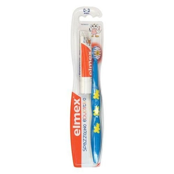 Elmex spazzolino bimbi educativo 0-3 anni