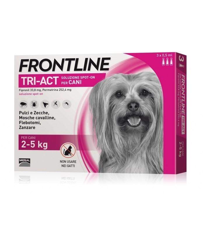 Frontline Tri-Act 3 Pipette 2-5 Kg