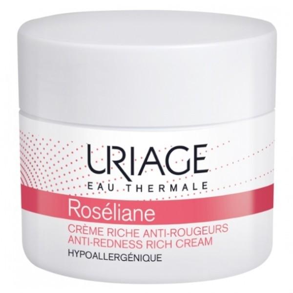 Uriage Roséliane Crème Riche Anti-Rougeurs Trattamento anti-arrossamenti 50ml