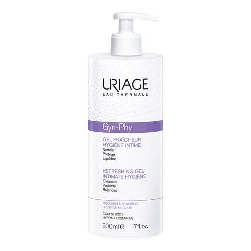 Uriage Gyn-Phy Detergente Gel Rinfrescante Igiene Intima 500ml
