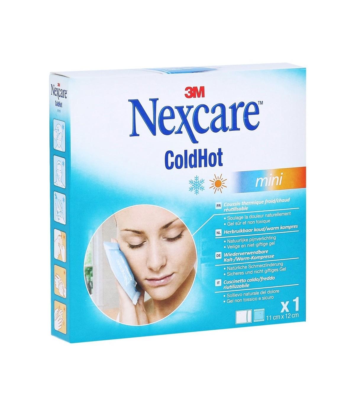 3M Nexcare ColdHot Mini Cuscino Caldo/Freddo  Riutilizzabile 11cm x 12cm 1 pezzo