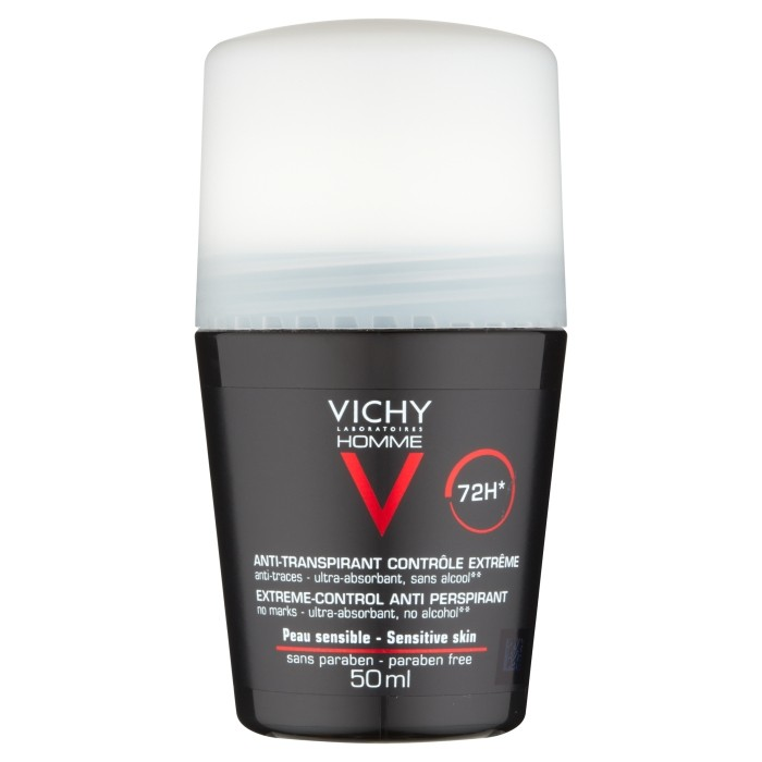 Vichy Homme Deodorante Roll-on Antitraspirante  72H 50 ml