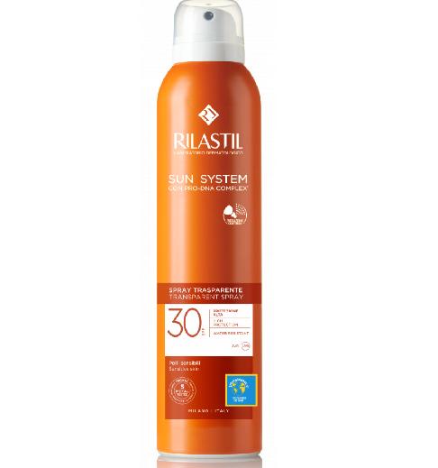 Rilastil Sun System Spray Trasparente Spf 30 200ml