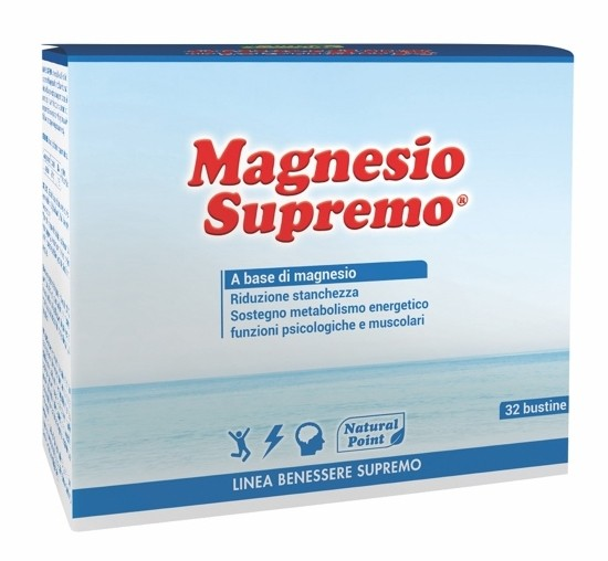 Natural Point Magnesio Supremo 32 bustine