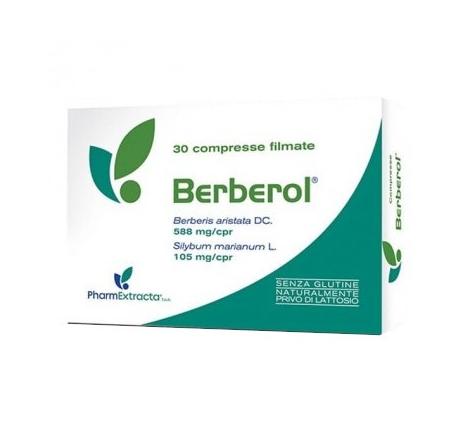 Pharmaextracta Berberol 30 compresse