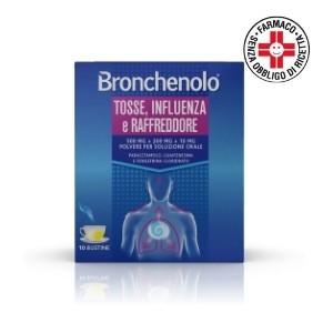 Bronchenolo Tosse Influenza e Raffreddore* 10 bustine