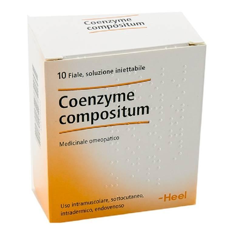 Heel Coenzyme compositum 10 fiale