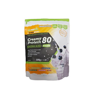 Named Sport Creamy Protein 80 Blueberry Flavour 500g