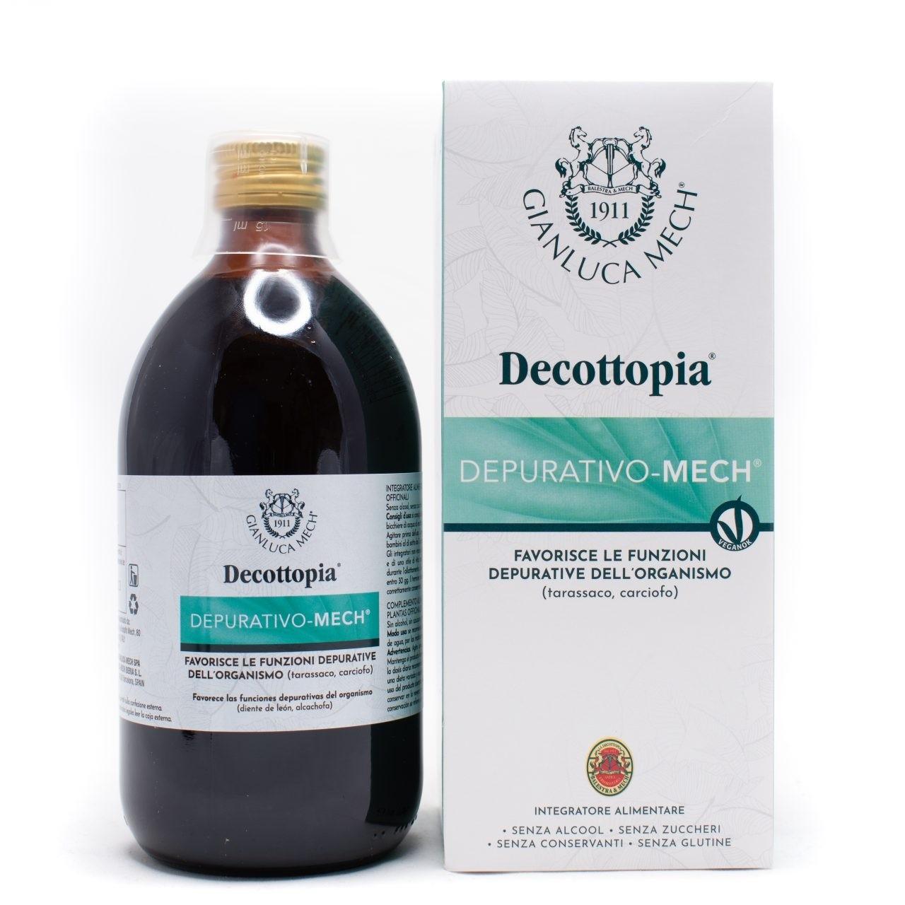 Gianluca Mech Decottopia Depurativo Mech 500ml
