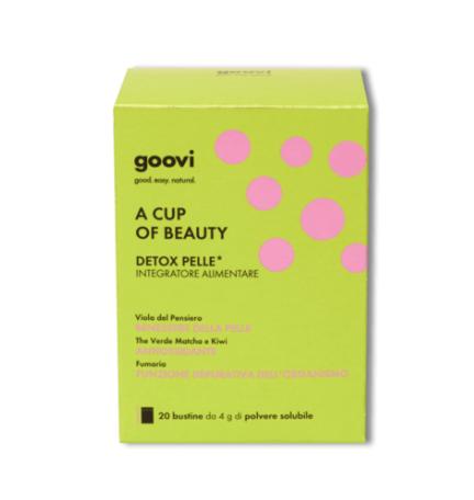 Goovi A Cup Of Beauty Detox Pelle Integratore Alimentare 20 Bustine