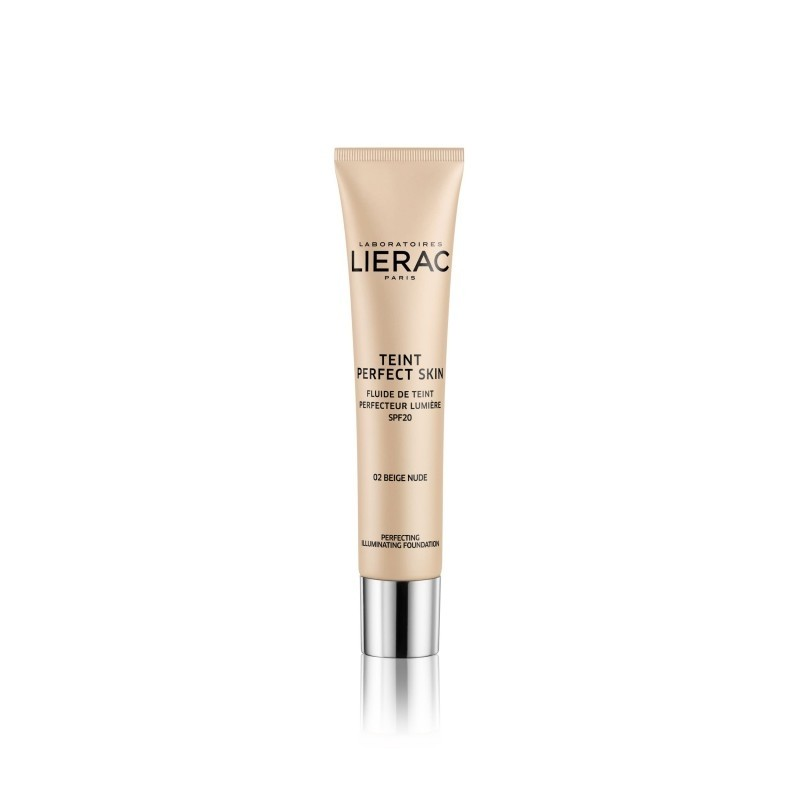 Lierac Teint Perfect Skin fondotinta perfezionatore illuminante spf20 2 Nude Beige 30ml