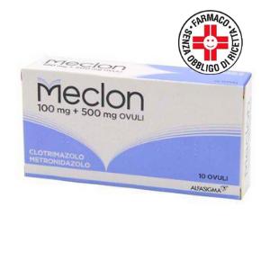 Meclon* 100+500mg 10 Ovuli Vaginali
