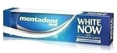 Mentadent white now 75 ml