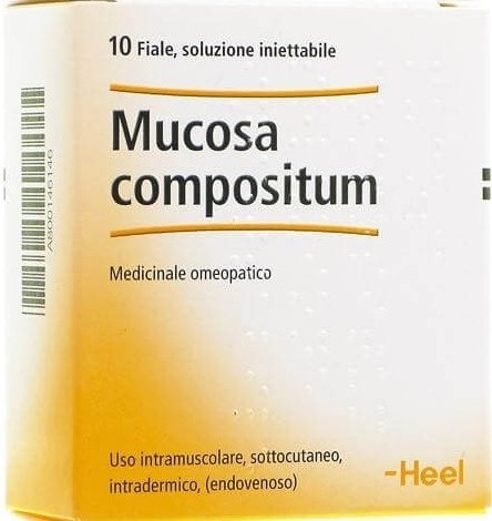 Heel Mucosa Compositum Medicinale Omeopatico 10 fiale iniettabili