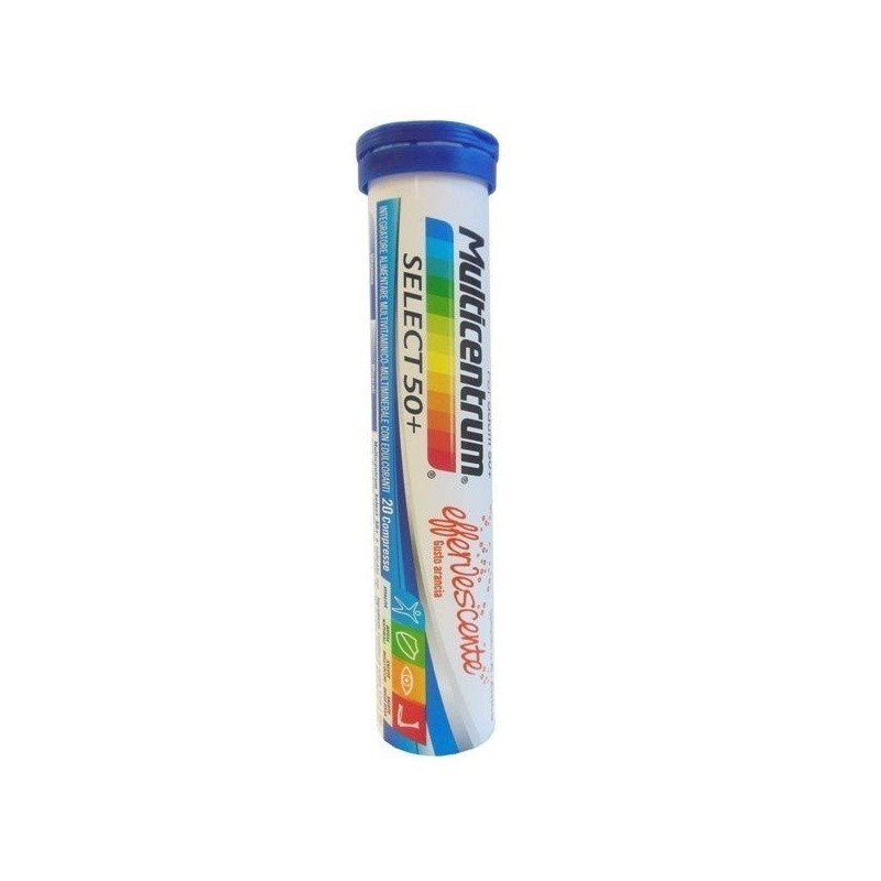 Pfizer Multicentrum select 50+ effervescente 20 compresse