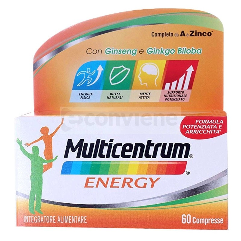 Pfizer Multicentrum Energy 60 compresse