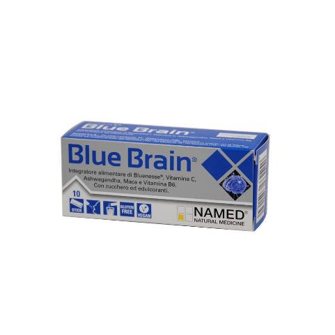 Named Blue Brain 10 bustine