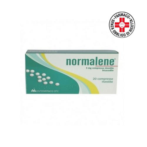 Normalene 5 mg 20 compresse rivestite