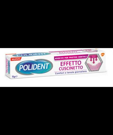 Polident Effetto Cuscinetto Adesivo per Protesi Dentali Comfort e Tenuta 70g