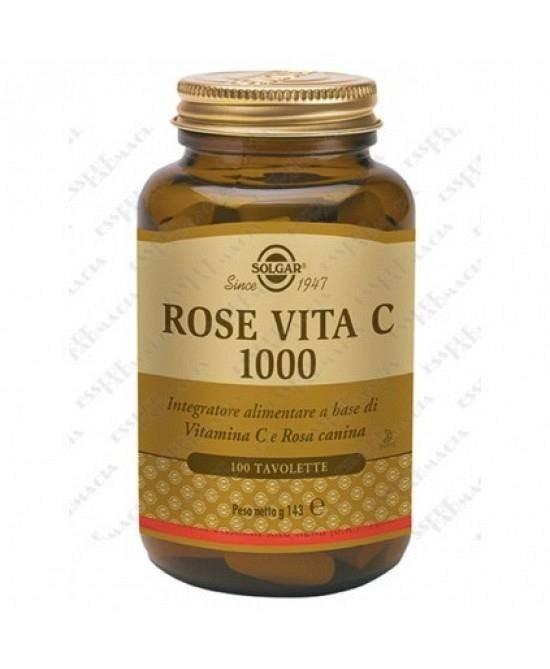 Solgar Rose Vita  C1000 100 tavolette
