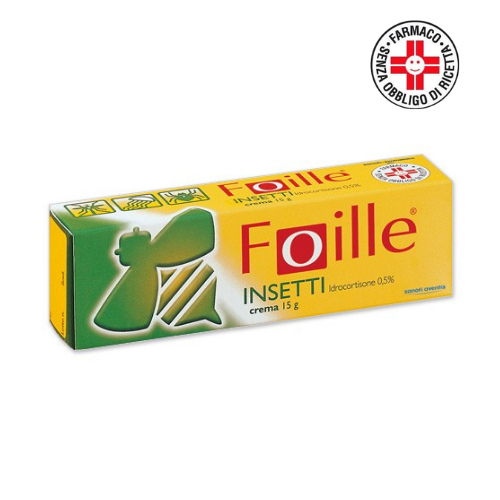 Sanofi Foille insetti crema 15g 0,5%
