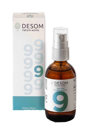 Desom 9 Integratore Reni e Vie Urinarie spray 50 ml