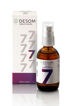 Desom 7 Integratore Stress e Autostima  spray 50 ml