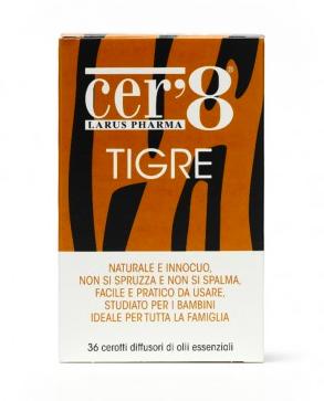 Cer'8 Tigre Cuscinetto Adesivo 36 pezzi