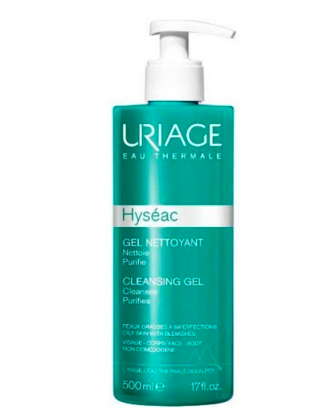 Uriage Hyseac Gel Detergente 500 ml