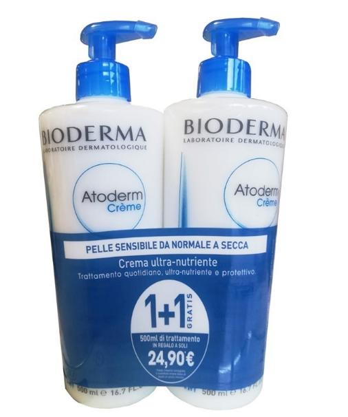 Bioderma Atoderm Crema 500+500ml