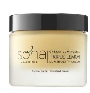 Soha crema ricca triple lemon 50 ml