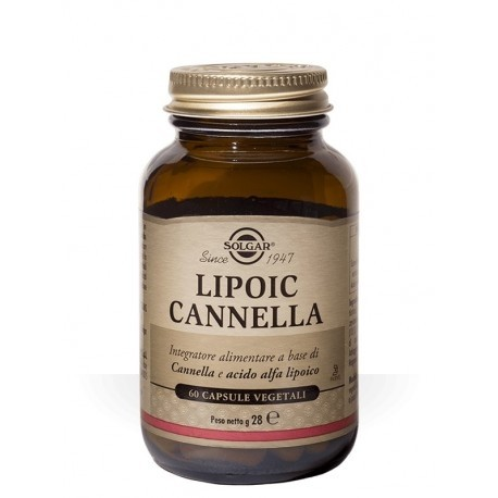 Solgar Lipoic Cannella 60 Capsule