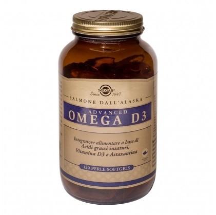 Solgar Advanced Omega D3 120 Perle