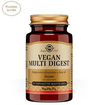 Solgar Vegan Multi Digest 50 tavolette  masticabili