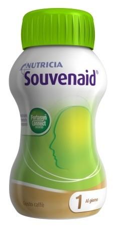 Nutricia Souvenaid Integratore Alimentare Gusto Caffè 4x125ml