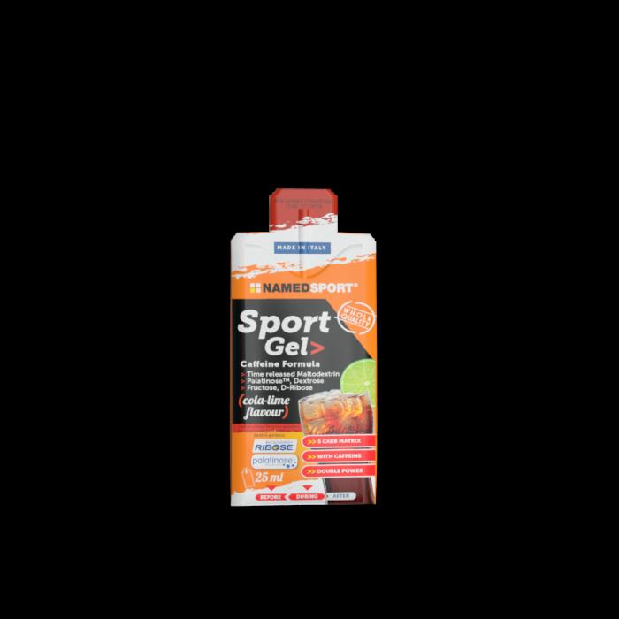 Named Sport Gel Caffeine Formula cola-lime flavour 25ml