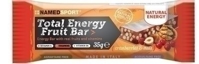 Total energy fruit bar cranberry & nuts 35 g