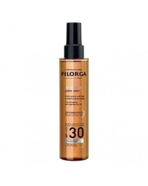 Filorga Uv Bronze Body Olio Solare Antietà spf30 150 ml
